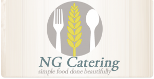 food and drink logo for ng catering