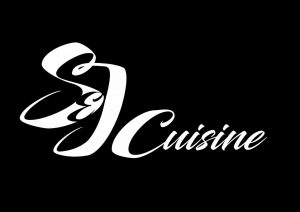 food and drink logo s&j cuisine